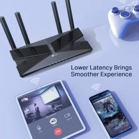 TP-LINK AX3000 Dual Band Gigabit Wi-Fi 6 Router - Archer AX50 - Black - 6