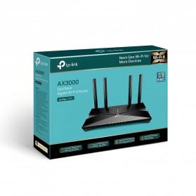 TP-LINK AX3000 Dual Band Gigabit Wi-Fi 6 Router - Archer AX50 - Black - 8