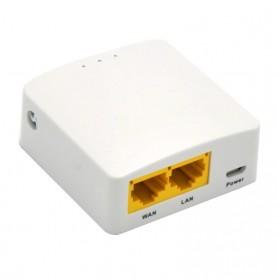 GL.iNet OpenWRT Mini Smart Router 16MB ROM Internal Antena - GL-AR150 - White - 2