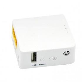 GL.iNet OpenWRT Mini Smart Router 16MB ROM Internal Antena - GL-AR150 - White - 3