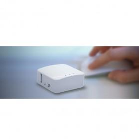 GL.iNet OpenWRT Mini Smart Router 16MB ROM Internal Antena - GL-AR150 - White - 4