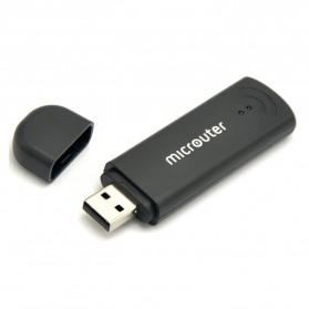 GL.iNet Microuter OpenWRT Mini Smart Router DDRII 64MB - GL-USB150 - Black - 3