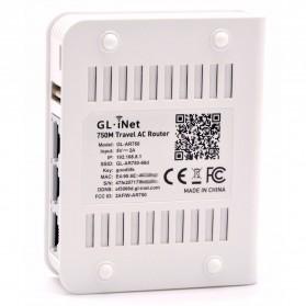 GL.iNet Creta Travel OpenWRT Mini Smart Router DDRII 128MB - GL-AR750 - White - 5