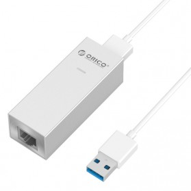 Orico Aluminium USB 3.0 Type A / Type C to Gigabit Ethernet LAN Adapter - ASL-U3 - Silver