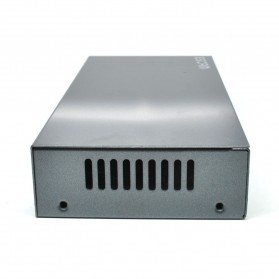 ESCAM POE 4+2 Port 10/100M Fast Ethernet Switch - PSE-6004 - Black - 4