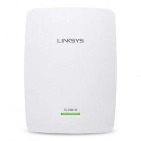 Linksys N300 Wi-Fi Range Extender - RE3000W-AP - White