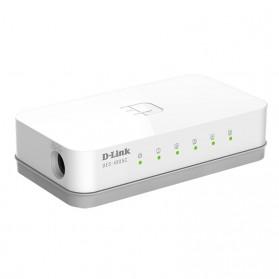 D-Link Fast Ethernet Switch 5 Port - DES-1005C - White