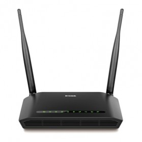 D-Link Wireless N ADSL2+ 4 Port Wi-Fi Router - DSL-2750E - Black