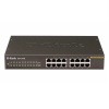 D-Link Fast Ethernet Unmanaged Switch 16 Port - DES-1016D - Black