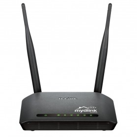 D-Link Wireless N300 Cloud Router - DIR-605L - Black