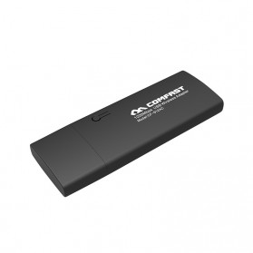 Comfast Wireless Receiver USB 3.0 Dual Band 802.11ac 1200Mbps - CF-912AC - Black - 4