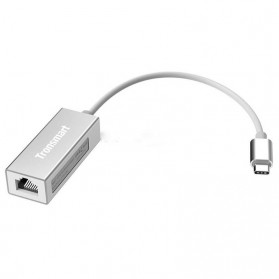 Tronsmart Gigabit Ethernet LAN Adapter USB Type C 3.1 - CTL01 - Silver