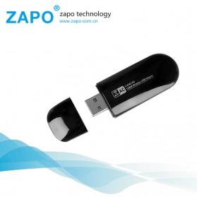 ZAPO W50S Mini USB Wireless Adapter 802.11AC 1200Mbps - RTL8812AU - Black - 2