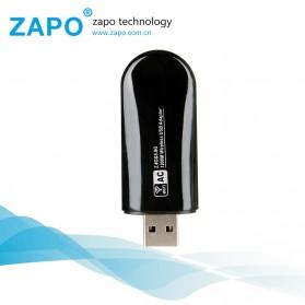 ZAPO W50S Mini USB Wireless Adapter 802.11AC 1200Mbps - RTL8812AU - Black - 4