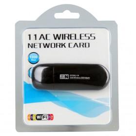 ZAPO W50S Mini USB Wireless Adapter 802.11AC 1200Mbps - RTL8812AU - Black - 6