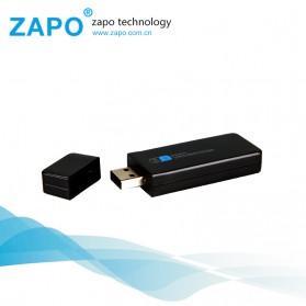 ZAPO W67B USB Wireless Adapter 802.11AC 600Mbps with Bluetooth 4.0 - Black - 3