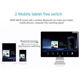ZAPO W67B USB Wireless Adapter 802.11AC 600Mbps with Bluetooth 4.0 - Black - 6