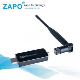ZAPO W50L-5DB USB Wireless Adapter 802.11AC 1200Mbps - RTL8812AU - Black - 2