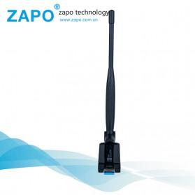 ZAPO W50L-5DB USB Wireless Adapter 802.11AC 1200Mbps - RTL8812AU - Black - 3