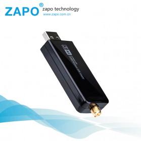 ZAPO W50L-5DB USB Wireless Adapter 802.11AC 1200Mbps - RTL8812AU - Black - 4