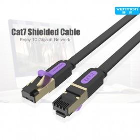Vention Kabel Ethernet LAN Network RJ45 Cat7 2M - ICAB - Black - 2