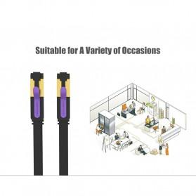 Vention Kabel Ethernet LAN Network RJ45 Cat7 2M - ICAB - Black - 5