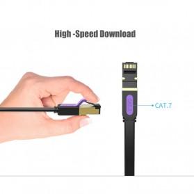Vention Kabel Ethernet LAN Network RJ45 Cat7 2M - ICAB - Black - 6