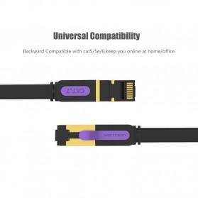Vention Kabel Ethernet LAN Network RJ45 Cat7 2M - ICAB - Black - 9