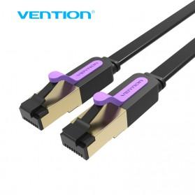 Vention Kabel Ethernet LAN Network RJ45 Cat7 5M - ICABJ - Black