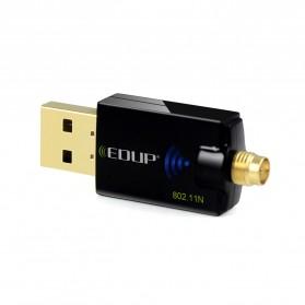 EDUP Wireless USB Adapter 802.11N 300Mbps Realtek8192CU Chispset - EP-MS1559 - Black - 4