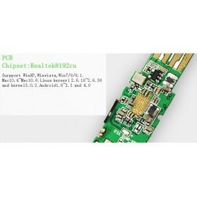 EDUP Wireless USB Adapter 802.11N 300Mbps Realtek8192CU Chispset - EP-MS1559 - Black - 8