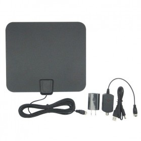 Digital TV / FM HDTV Antenna - JY002-1-8 - Black