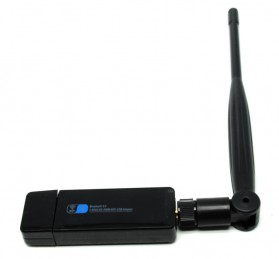 USB WiFI Adapter Dual Band 450Mbps Bluetooth Receiver 4.0 with Antenna - RTL8821 - Black - 2