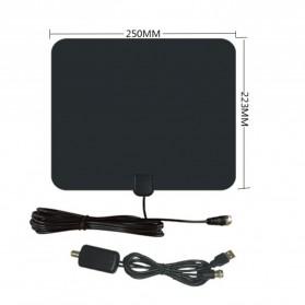 Digital TV HDTV Antenna - CJH-158A - Black - 4