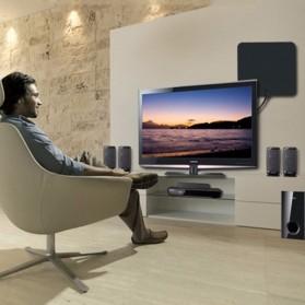 Digital TV HDTV Antenna - CJH-158A - Black - 7
