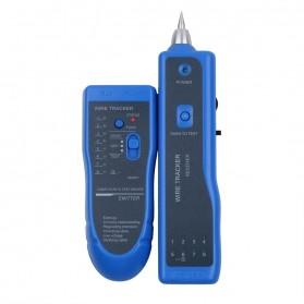 Wire Tracker Multi Purpose Tester Kabel Jaringan RJ45 RJ11 - WZ-806R - Blue - 3