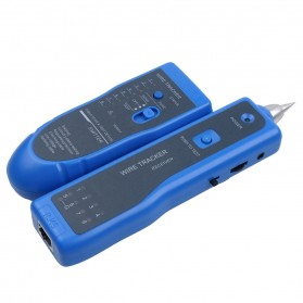 Wire Tracker Multi Purpose Tester Kabel Jaringan RJ45 RJ11 - WZ-806R - Blue - 4