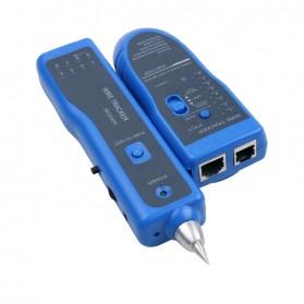 Wire Tracker Multi Purpose Tester Kabel Jaringan RJ45 RJ11 - WZ-806R - Blue - 5