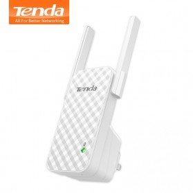 TENDA N300 Universal Wireless Range Extender 300Mbps - A9 - White - 1