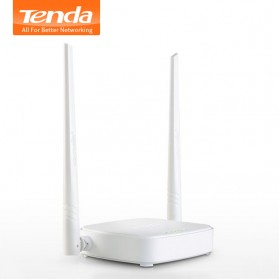 TENDA N300 WiFi Router 300Mbps - N301 - White - 1