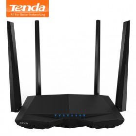 TENDA AC1200 Smart Dual-Band WiFi Router - AC6 - Black