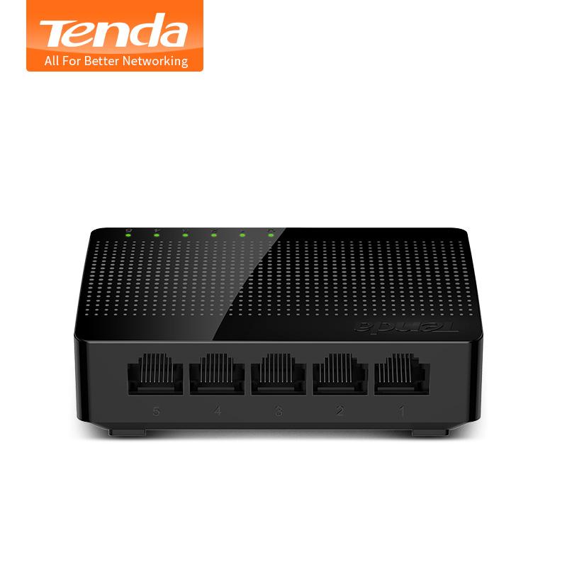 TENDA Gigabit Desktop Switch 5 Port SG105 Black