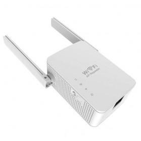Wireless Router N300 Wifi Repeater 300Mbps Dual Antenna - WR13 - White