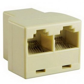 RJ45 1x2 Ethernet Connector Splitter
