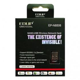 EDUP Mini Wireless 802.11N 150Mbps WIFI USB Network Card Adapter - EP-N8508 - Black - 4