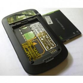 Stiker Antena Penguat Sinyal Smartphone - Silver - 2