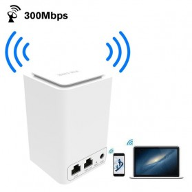 PIX-LINK Mini Wireless Router Wifi Repeater 300Mbps - LV-WR11 - White