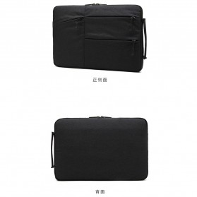 Mosiso Sleeve Case Shockproof for Laptop 13 Inch - C2396 - Black - 2