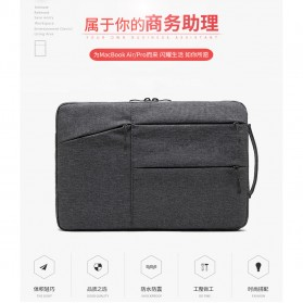 Mosiso Sleeve Case Shockproof for Laptop 13 Inch - C2396 - Black - 6