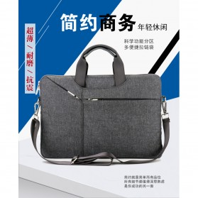 Qinuo Sleeve Case Shockproof for Laptop 15.6 Inch - Gray - 2